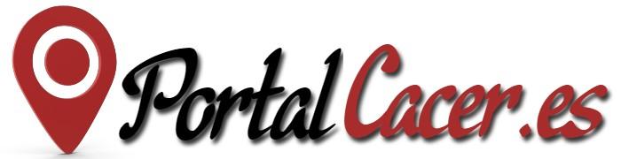 Logo retina para la web de Portal Cáceeres